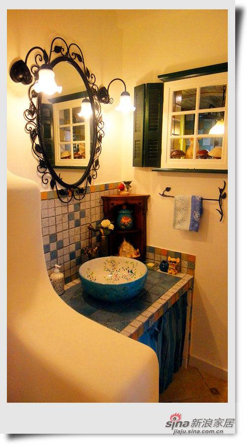 拥树画海--宅在自己的房间里旅行-走廊洗漱间图片 家居秀