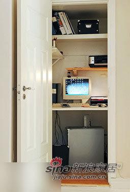 壁橱式办公桌设计 图片 家居秀 新浪装修家居网高清图片