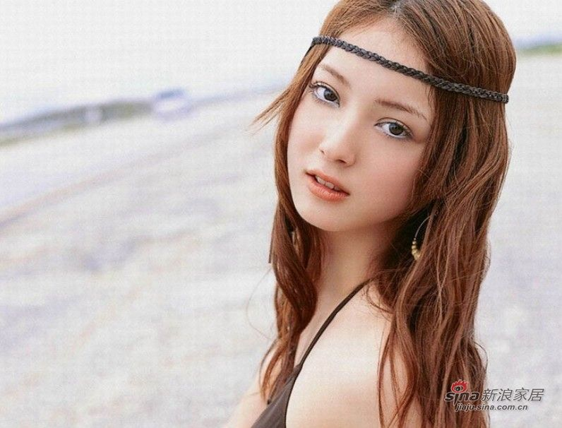 最美丽面孔日本美女佐佐木希被爆全露照