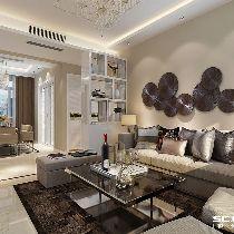 【上海实创装饰】浦江颐城143平三居现代简约风格之家