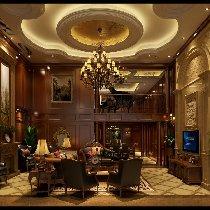 400平米美式别墅装修 奢华大气家居