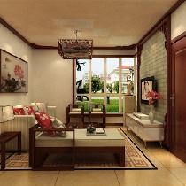 106平新中式古典风格 时尚新型和谐家居