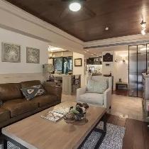 86㎡美式乡村风公寓,令人甚是羡慕!