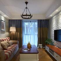 【上海实创装饰】康桥宝邸85平地中海时尚公寓,欢乐无处不在