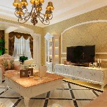 顺鑫花语210平欧式纯正奢华别墅设计