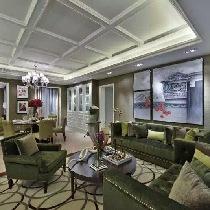 260平联排别墅知性而优雅的现代新古典风格装修