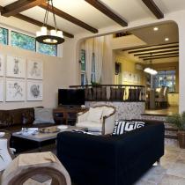 干练稳重美式别墅 自然主义元素混搭