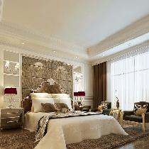 设计理念:简约欧式风格沿袭古典欧式风格的主元素,融入了现代的生活元素。欧式的居室有的不只是豪华大气,更多的是惬意和浪漫。通过完美的典线,精益求精的细节处理,带给家人不尽的舒服触感。