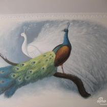 我的经典手绘墙