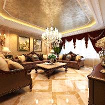 远洋岦宫-新古典装饰-别墅设计