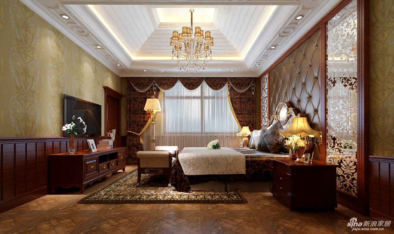 香奈儿402平自建别墅装修演绎低调奢华的欧式风格