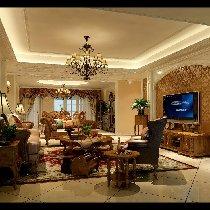成都城南一号美式风格装修 大气舒适家居