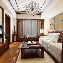 一居室中式风格装修