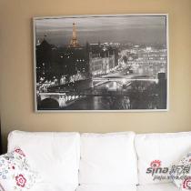 墙上的照片也是我最想去的地方——法国,很喜欢啊!很浪漫的一个城市。