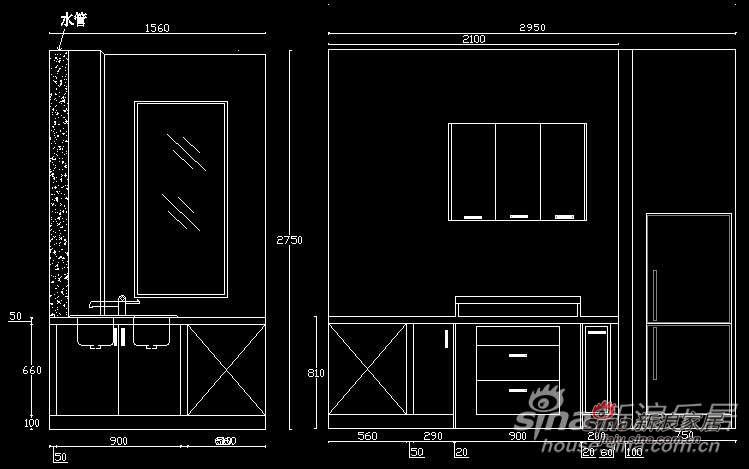家居秀 maaa119的家居秀 我的家效果图及平面图 橱柜立面图; maaa119图片
