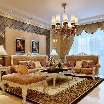 9.2万打造成功夫妇百旺茉莉园95平米奢华欧式风格