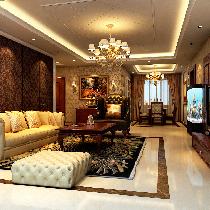 男主人简欧风格 装修120平米朝阳百子湾三居室案例