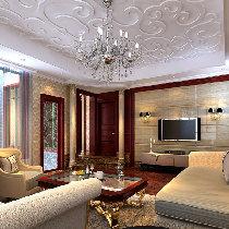 十二橡树320平米别墅美式风格