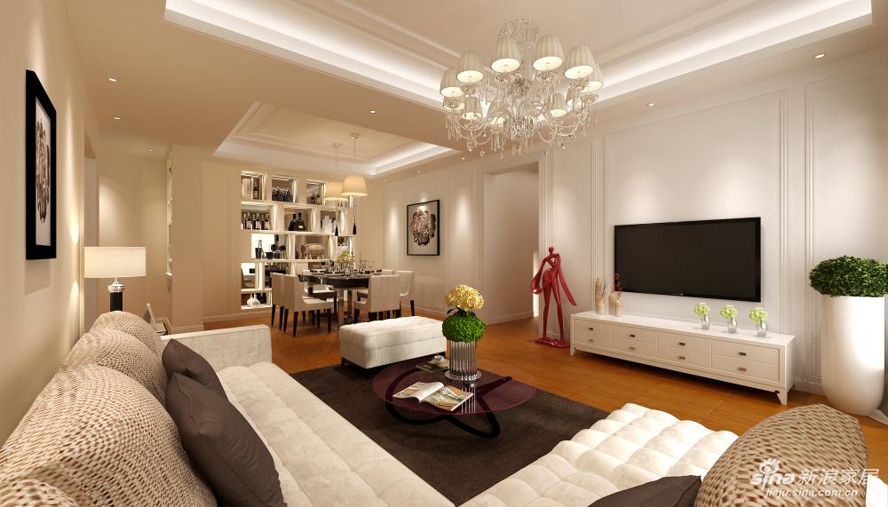沙发和地板的色彩搭配