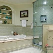 设计雅致的卫生间是家装不可或缺的。