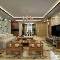 【上海实创装饰】197平徐汇百汇园素雅小美风装修设计