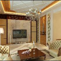 三居室美式风格装修