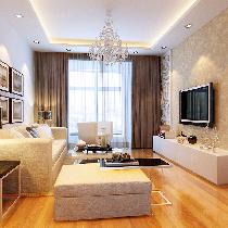 六郎庄90平米简练干净简约风格两居室 幸福三口之家