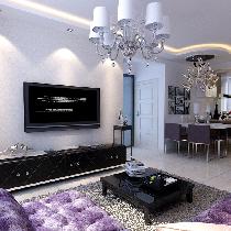 盾安•新一尚品-现代-二居室