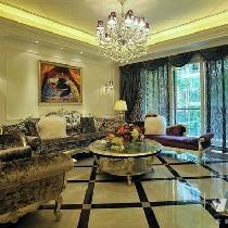 新古典风格别墅,奢华与居家并存的美美家