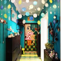 恋上3室混搭色彩涂鸦 功能空间分区超合理