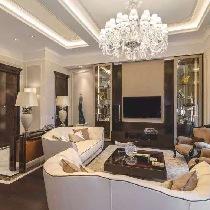 上海实创装饰打造154平新古典风格高贵典雅大气之家