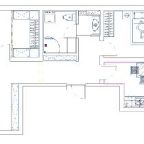 设计说明:局部的拆改,加强整体的空间感,从吊顶到电视沙发背景墙,每个地方都前后呼应,层次感加强,使整体空间格局更加合理的运用。简单的造型使北欧的味道更加浓郁。使客厅更加立体,同样,也温馨舒适,北欧韵味十足。