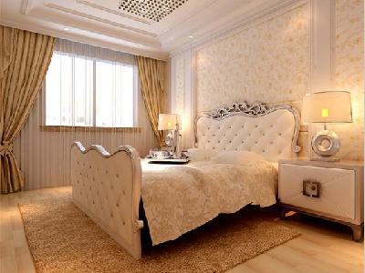背景墙 房间 家居 起居室 设计 卧室 卧室装修 现代 装修 400_300图片