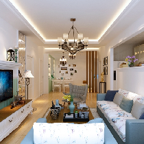 秦皇岛实创7万打造92平二居浪漫的韩式风格