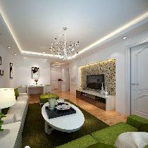 5.5万装扮燕郊天洋城86平清新舒适二居室