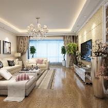 【广州实创装饰】现代风格走俏,精装157平米三房两厅
