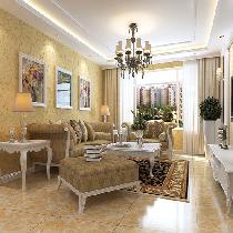 金寓华庭-温馨简欧风格
