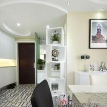 白领巧装二手房 打造100平现代简约风格温馨三居