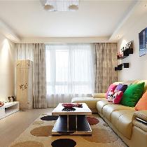 温馨浪漫气息婚房 106平现代简约3居室