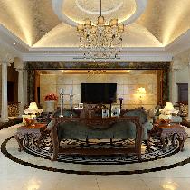 香奈儿402平自建别墅装修演绎低调奢华的欧式风格!