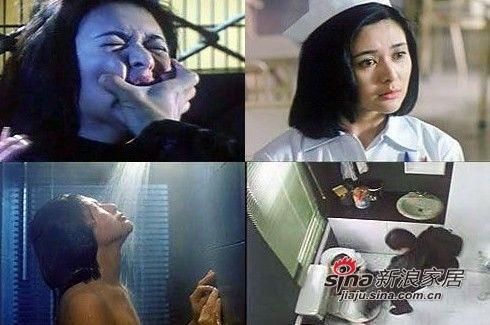 关之琳早在1995年的《夏日福星》就曾湿身露点,效果与章子怡在《卧虎藏龙》中的镜头相仿。1998年拍《血衣天使》,有场在车上被歹徒强暴的戏。片商为增加噱头,特地请来裸替为关之琳出演。