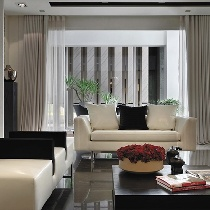 164平现代新古典时尚雅居 黑白搭配演绎设计灵魂