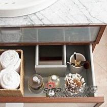 卫生间收纳柜图片 浴室用品如何收纳