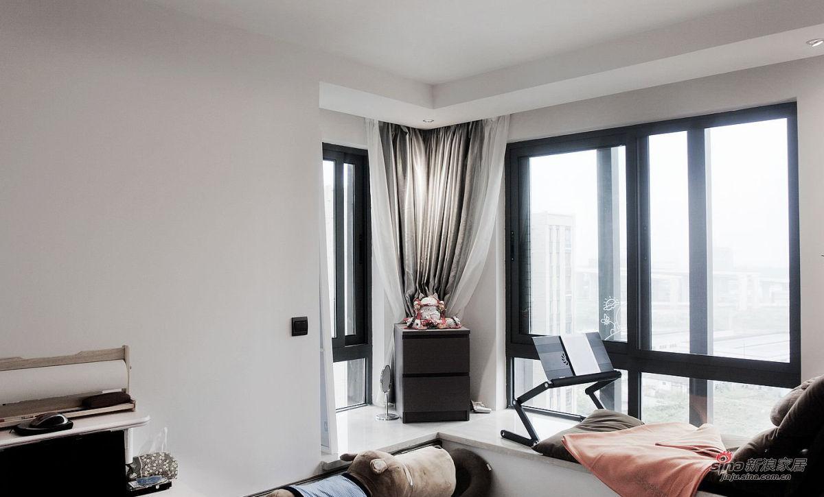 卧室飘窗论+�_卧室飘窗设计
