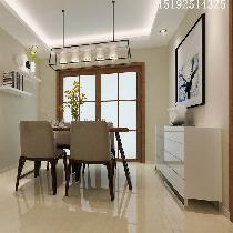 樱花郡三室两厅简约装修144平大户型|青岛实创装饰
