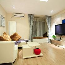一居室现代简约风格装修实景图