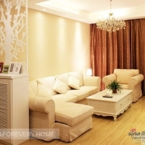 12W装80平两室一厅简欧风格