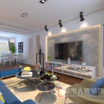 【烟台城市人家】中海国际社区110平米现代简约风格签约方案