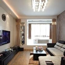 76平两房一厅处处是亮点 阳台改造休闲区
