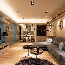 【上海实创装饰】张杨路78平旧房改造简约而不简单